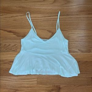 Mint Babydoll Tank Top